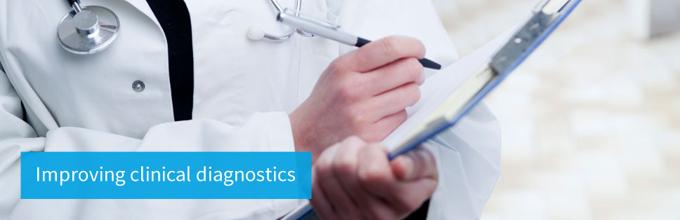 Improving clinical diagnostics